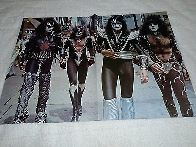 Kiss  Poster Ace Frehley Walk Two Sides Of The Coin Poster Size 16 1/2 X 23 1/2