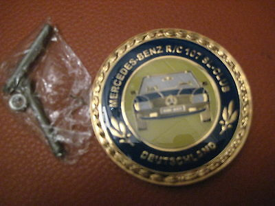 Badge W107 R107 Mercedes Club Deutschland SL W/R107 Emblem  Plakette