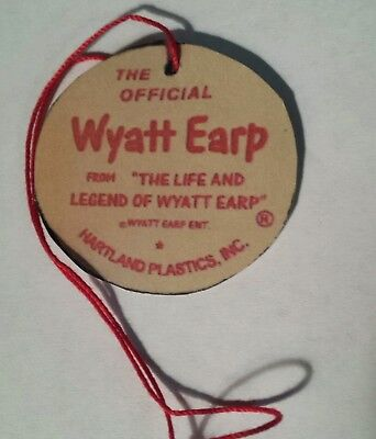 Hartland Official Wyatt Earp hangtag with COA