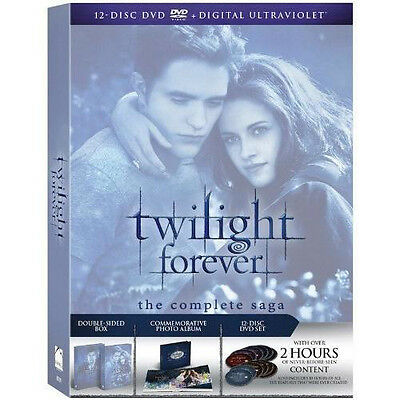 The Twilight Saga: The Complete Collection (DVD, 2013, 12-Disc Set) !BRAND NEW!