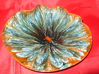 "LINTHORPE POTTERY 8"" Wavy Edge Dish Bowl No. 276 c1880"