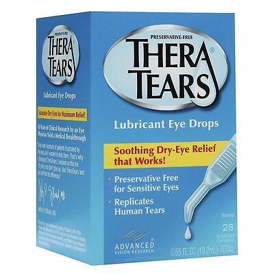 Theratears Preservative Free Eye Drops or Gel & Dry Eye Nutrition Thera Tears