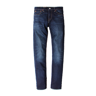 Genuine LEVIS Mens 511 Slim Fit Dark Blue Faded Stretch Jeans LEVI #2306