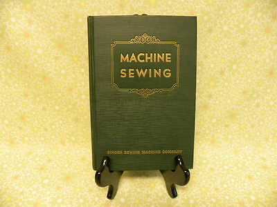 Rare edition 1948 SINGER Machine Sewing Textbook 15 99 221 201 301 222 401 403