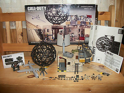 Mega Bloks 06818 Call of Duty Dome Battleground & 06813 Drone Attack vehicle