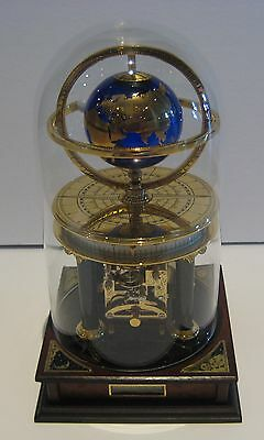 Franklin Mint -  Royal Geographical Society Millennium Mantel Clock -RARE