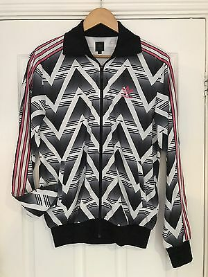 Adidas Originals Arsenal Bruised Banana Track Top Jacket Retro Vintage Med Shirt