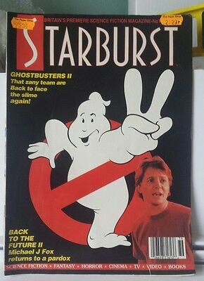 Starburst magazine. Issue 136. dec 89.Ghostbusters 2 , BTTF2, The Abyss.