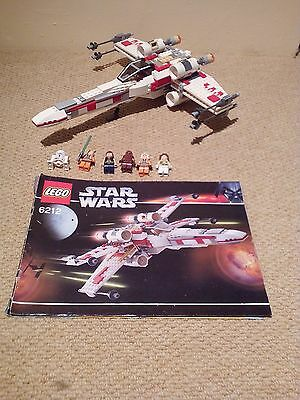 Lego Star Wars Set 6212 X-Wing With Instructions