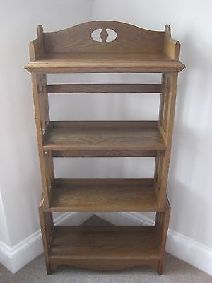 Arts and Crafts Liberty Style Light Oak Bookcase