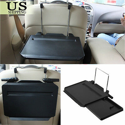 Portable Laptop Steering Wheel Desk Car Computer Mount Holder  Eating Tray Stand