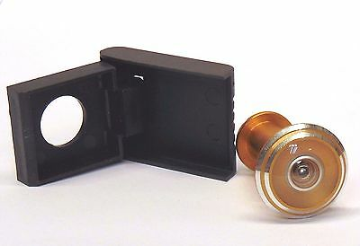 NSA Security Door Viewer Wide Angle 160°/180° Peep Hole PVC UPVC Wood Spy Hole
