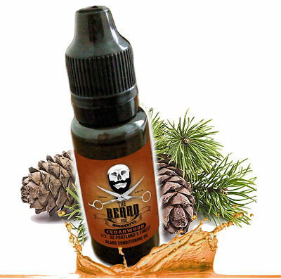 Cedarwood Beard Oil and leave in conditioner Premium Blend 1/2 Oz Bottle (15ml)