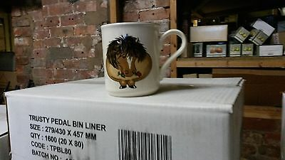 Arthur Woods Pony Coffee Mug x 4.