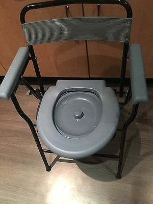 Folding Lightweight Commode
