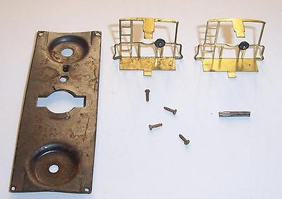 American Flyer S Gauge Parts Caboose Trim Steel Frame Chassis Brass Ladder Ends