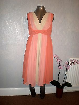 Asos Maternity Skater Dress in Ombre UK12 Brand New