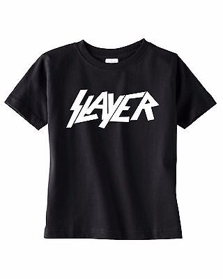 slayer baby kids toddler TEEN youth t-shirt concert tee shirt clothing black NEW