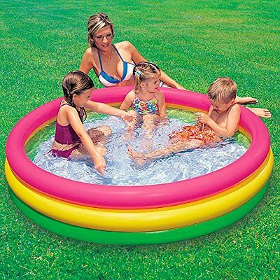 Intex Sunset - Piscina hinchable ideal para niños