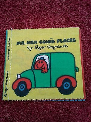 Mr Men Going Places - By Roger Hargreaves Cloth Book - 1979 - Lovely Condition