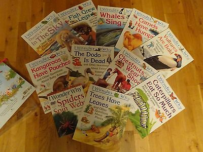 11 great I Wonder Why Books (Kingfisher publications)