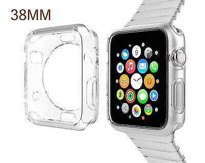 Insignia Bumper Case for Apple Watch 38mm - Clear - NS-AWBC38CL2