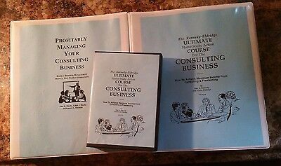Dan Kennedy HOME STUDY CONSULTANT COURSE (was $497) Free Shipping NEW