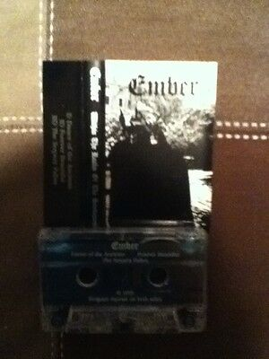 ember(usa) within the realm of the snowqueen 1995 demo black metal cassette