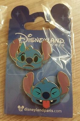 PIN Disneyland Paris SET EMOJI STITCH OE