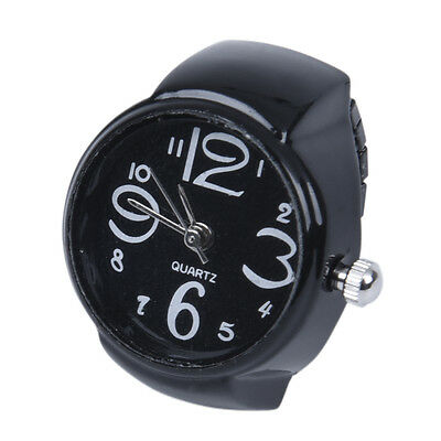 "Arabic Number Quartz Men Pocket Finger Ring Watch 0.87"" HOT"