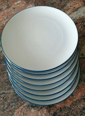"NICE! Noritake Colorwave BLUE 10 6/10"" DINNER PLATE EXCELLENT Set of 7 available"