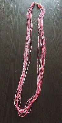 Vintage Flapper Seed Bead Necklace