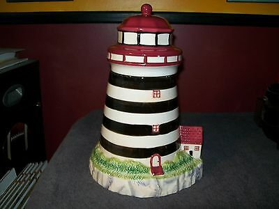 Alco Industries Lighthouse Cookie Jar