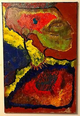 Native █ American █ Impressionist █ Art █ Signed █ Abstract █ Realism