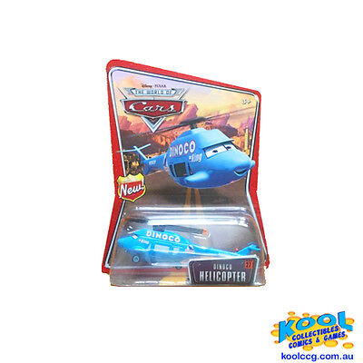 PIXAR THE WORLD OF CARS #27 Dinoco Helicopter *BRAND NOW*