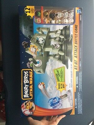 Best Quality Angry Birds Star Wars AT-AT Attack Battle Game NEW!