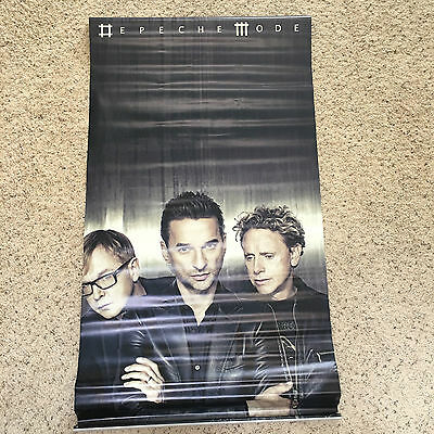 Depeche Mode giant 2 sided promo vinyl Poster Sounds of  Universe  4FT by 2 FT
