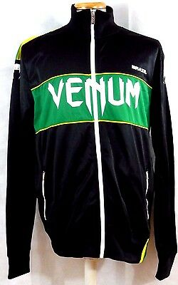 VENUM MMA Jackets NWT Team BRAZIL Black with Theme color black/green