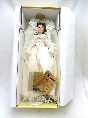 Vintage Handpainted Seymour Mann Mint Bridal Doll Box&Papers GREAT WEDDING GIFT