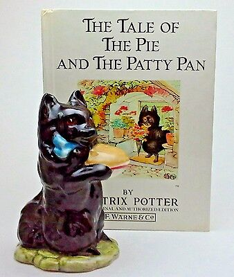 Beatrix Potter DUCHESS Figurine, PIE & PATTY PAN BOOK, Spitz, Pomeranian, LOVELY