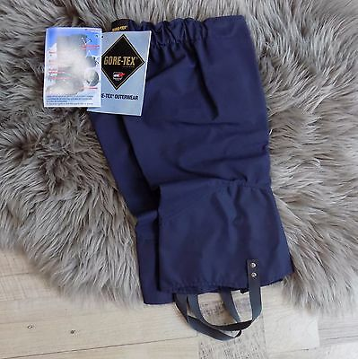 Gortex Gaiters Navy Military, expedition, hiking boot covers NWT sz M