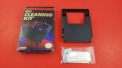 Nintendo NES Cleaning Kit [Complete CIB Official Original OEM] Working