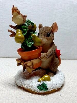 """Special Ed. Fitz & Floyd Charming Tails """"The First Day Of Christmas"""" Item 98/210"""