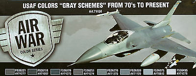 VALLEJO: Modern USAF Grey Schemes Model Air 8x 17ml