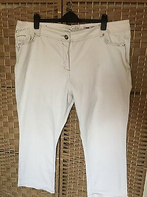 Ladies plus size 24/26 White Jeans from New Look Inspire 😀😀.Pls read size!!!