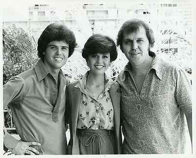 Donny And Marie Osmond The Osmonds Smiling Portrait Original 1980 Abc Tv Photo