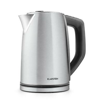 Cordless Fast Boil Tea Kettle 1.7 L 3000 W Stainless Steel Hot Water Elegant