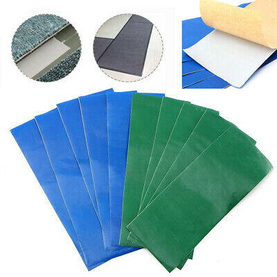 5x Awning Tent Tarpaulin Canvas Canopy Waterproof Adhesive Repair Tape Patches