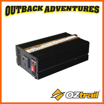 Oztrail 300 Watt Pure Sine Wave Inverter - Compact & Highly Portable Camp Power