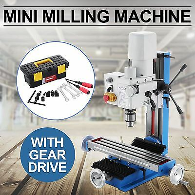 Mini Milling Drilling Machine With Belt Drive 550w Motor 3Axis Woodworking Tools